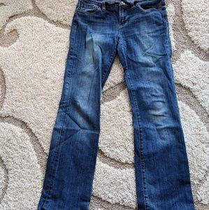 Womens Lucky Brand Bell Bottom Jean